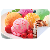 Microfibre XL Printed Towel - Ice Cream