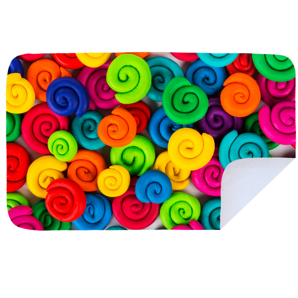 Microfibre XL Printed Towel - Rainbow Snails