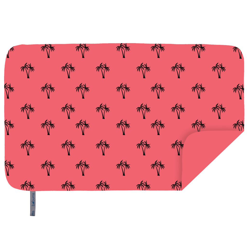 Microfibre XL Limited Edition Printed Towel - Coral