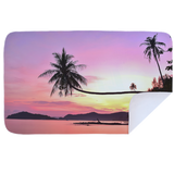 Microfibre XL Printed Towel - Pink Sunset