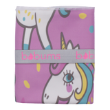 Microfibre L Printed Towel - Unicorn