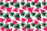 Microfibre XL Printed Towel - Watermelon Triangles