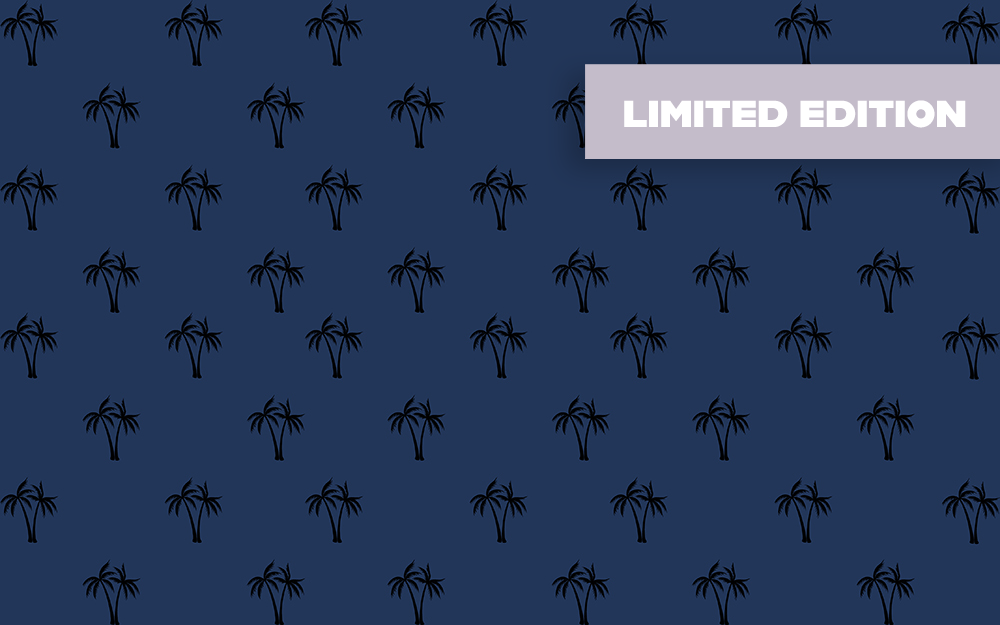 Microfibre XL Limited Edition Printed Towel - Navy