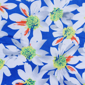 Sunflower Print in Blue