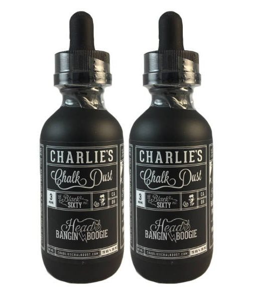 HEAD BANGIN BOOGIE BY CHARLIES CHALK DUST- 60ml Blueberry Popsicle 70