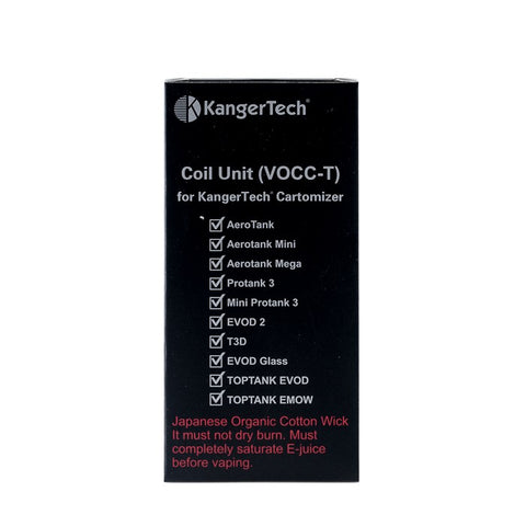 5 pack of VOCC-T Coil Unit by Kanger