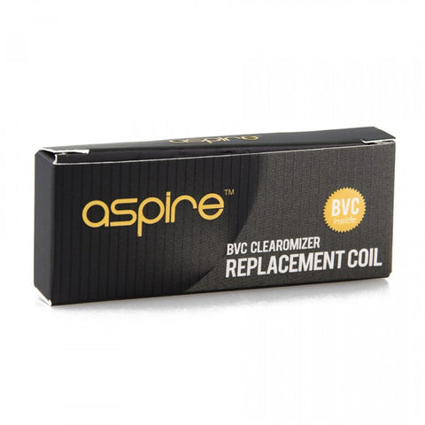 Aspire Multi-Compatible BVC Clearomizer Replacement Coil - 5 Pack