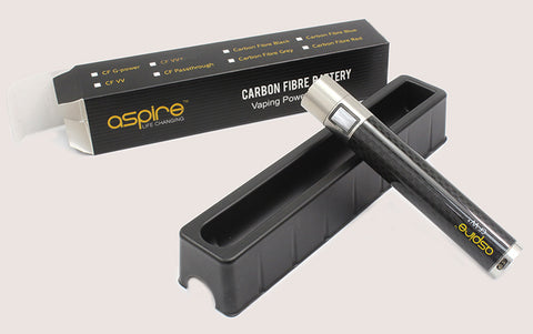 Aspire Carbon Fibre VV+ Battery Mod and Kanger T3'D Bundle
