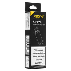 Aspire Breeze Atomizer Head - Pack of 5