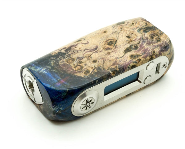Ohmsmium Kodama 80W TC Stabilized Wood Box Mod by Asmodus