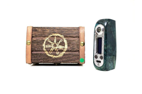 Asmodus Ohmsmium Kodama 80W TC Stabilized Wood Box Mod - Vaping100.com
