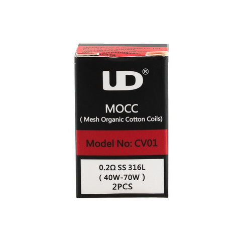 Athlon MOCC Atomizer Heads (Pack of 2) by UD