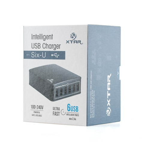 U1 SIX-U 45W 6-port USB Charger by Xtar