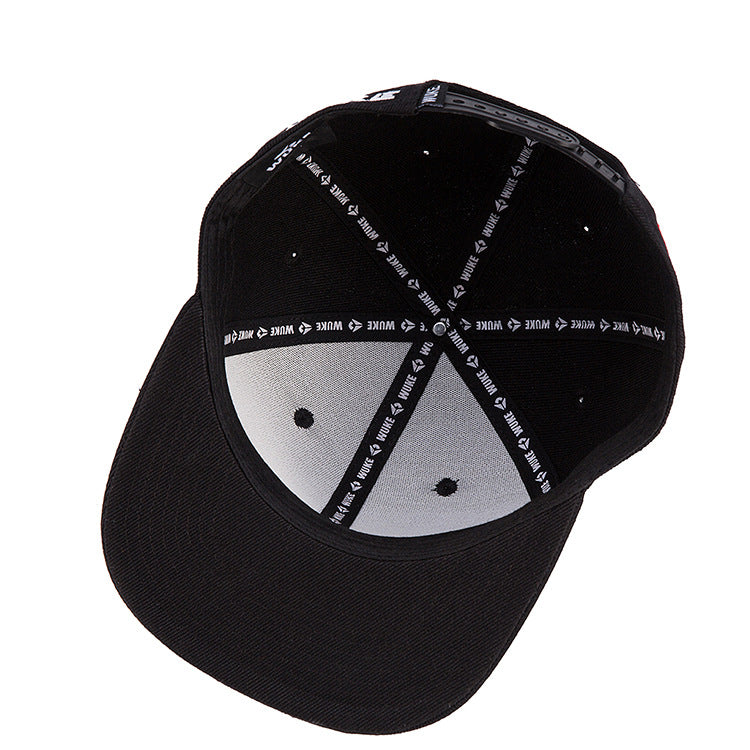 CORIRESHA Embroidered Hip-Hop Cap