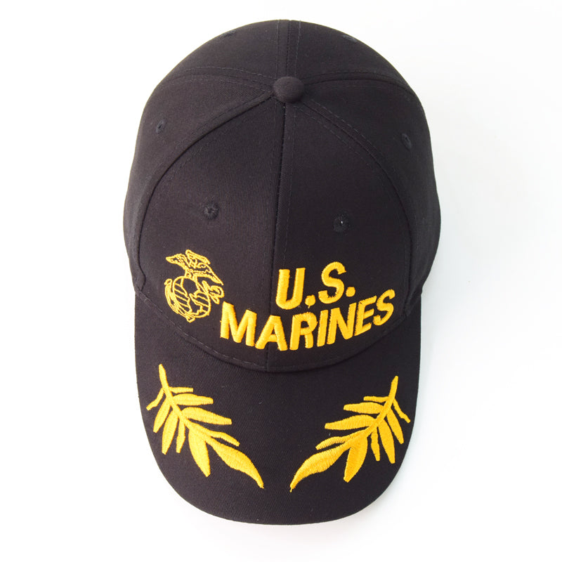 CORIRESHA US Marine Corps Embroidered Cap
