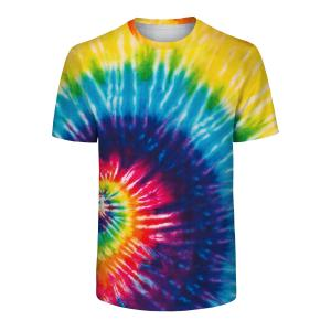CORIRESHA Rainbow Tie Dyed T-shirt