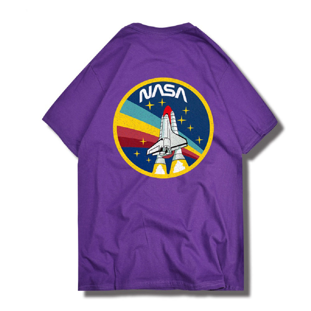 CORIRESHA NASA Print T-Shirt