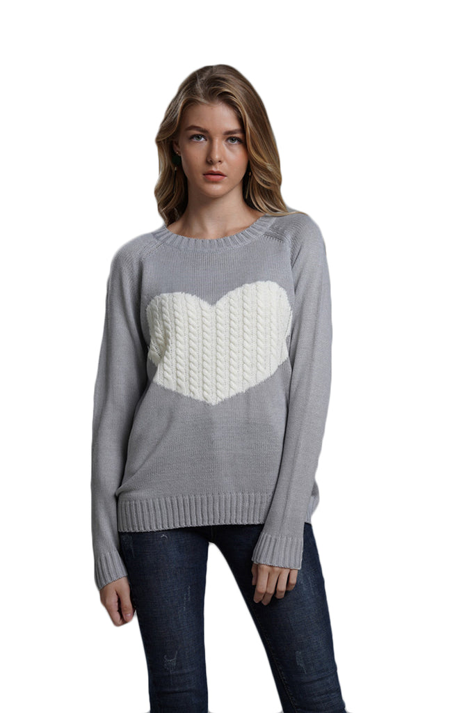 CORIRESHA Twist Knit Sweater