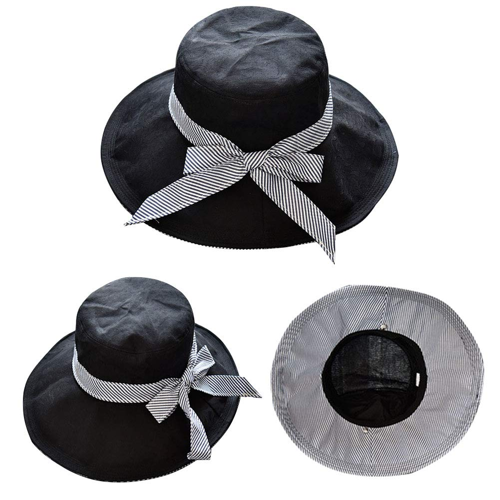 CORIRESHA Sunhat Cotton Beach Hat