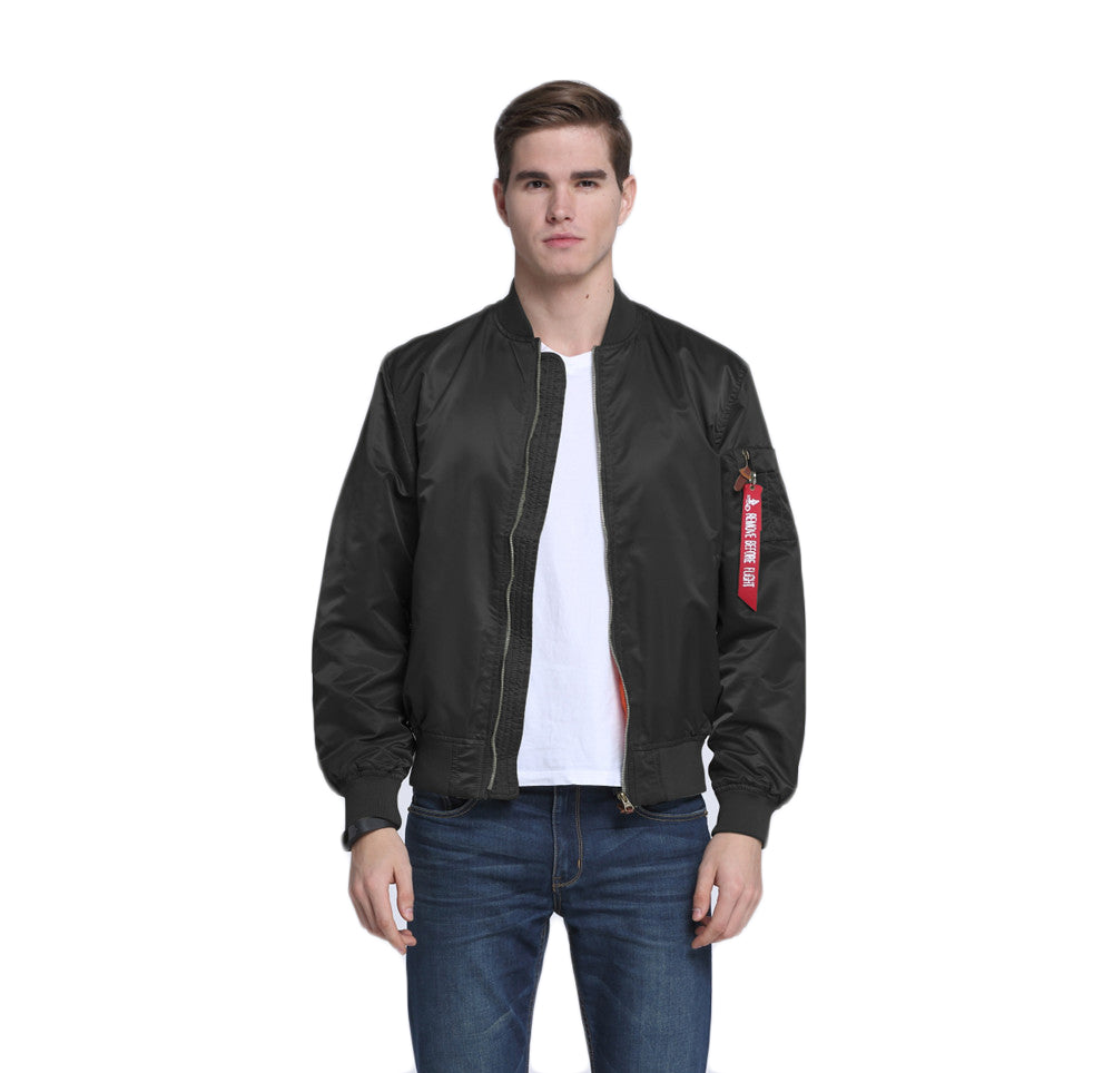CORIRESHA Flight Bomber Jacket