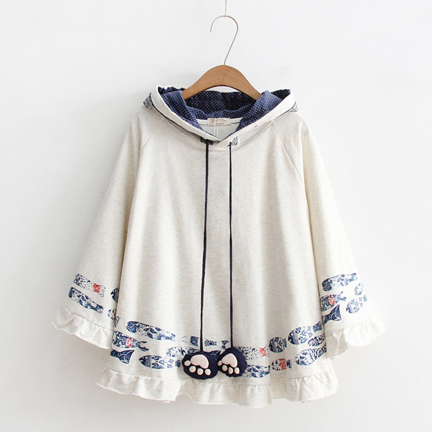 CORIRESHA Mori Hooded Cape