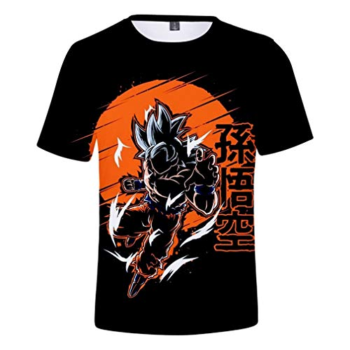 CORIRESHA 3D Print Dragon Ball Goku T-Shirt