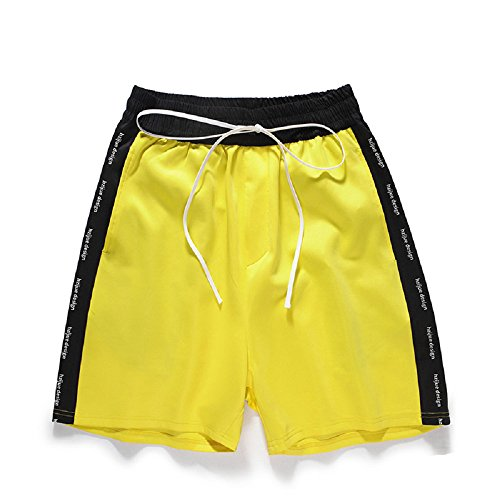 CORIRESHA Side Stripe Beach Jogger Shorts