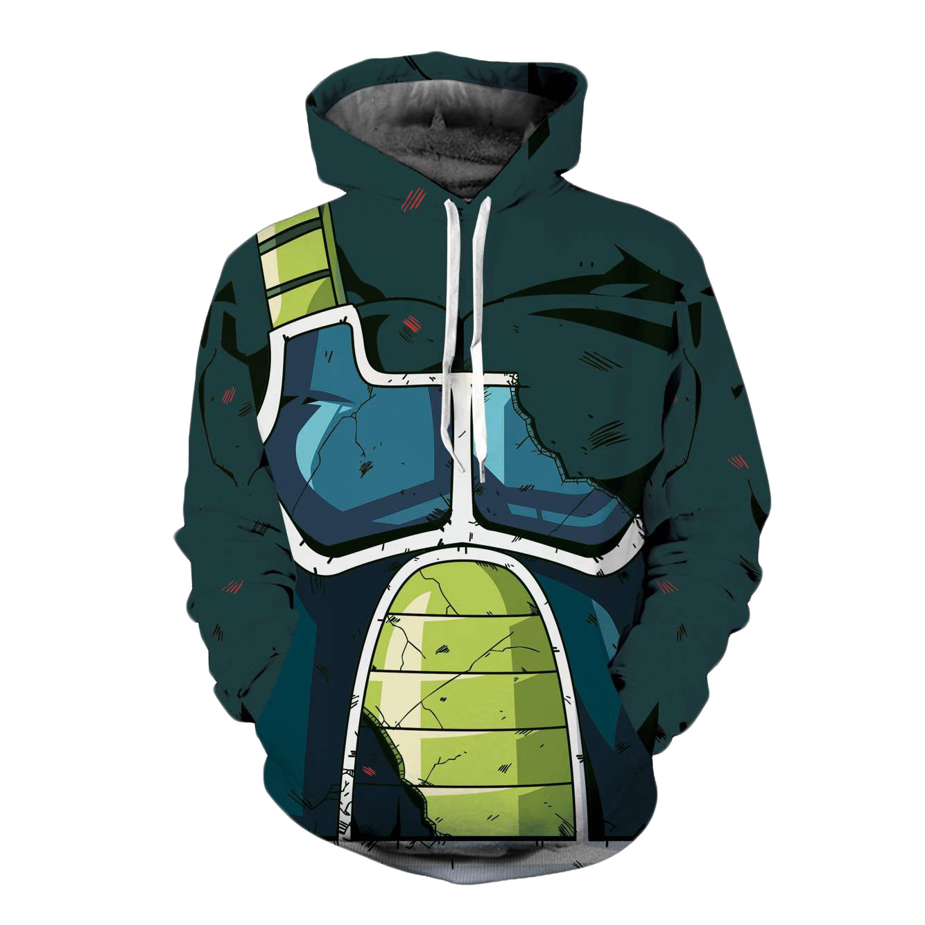 CORIRESHA Dragon Ball Saiyan Hoodie