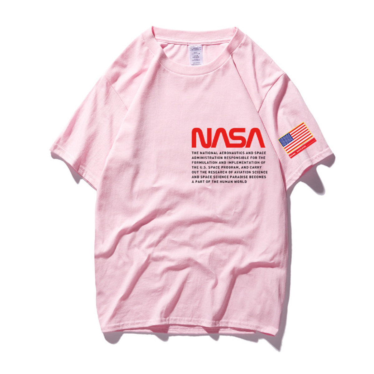 CORIRESHA NASA Logo T-shirt