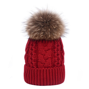 CORIRESHA Kids Thick Stretchy Knit Hat
