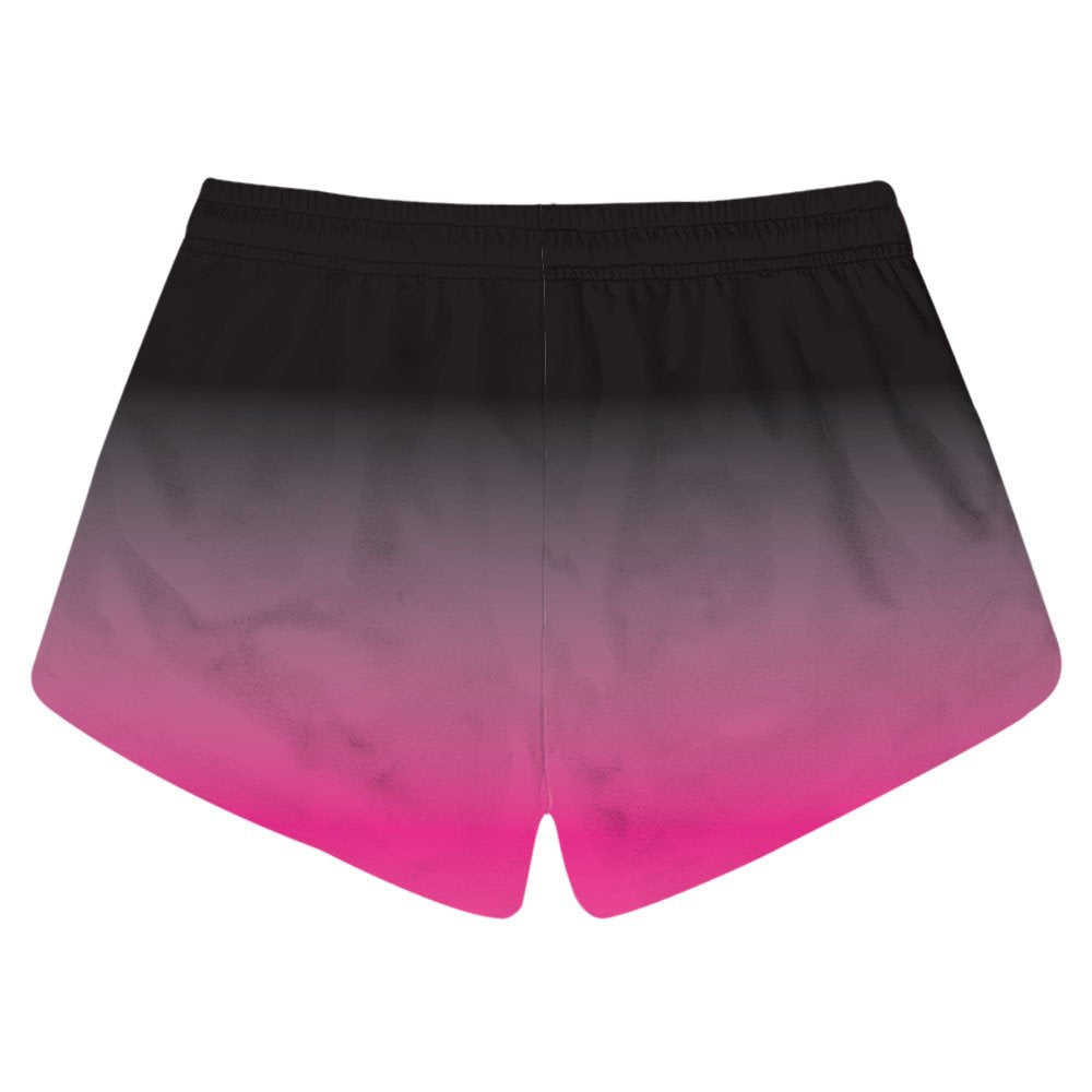 CORIRESHA Ombre Color Quick Dry Beach Shorts
