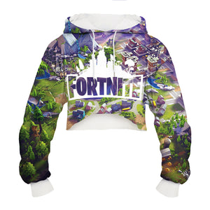CORIRESHA Games Theme Short Hoodie