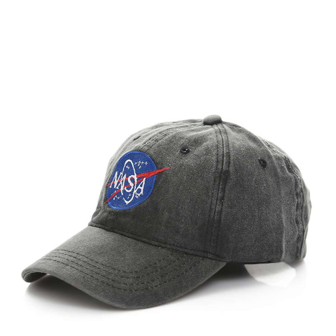 CORIRESHA NASA Insignia Logo Embroidered Dad Hat
