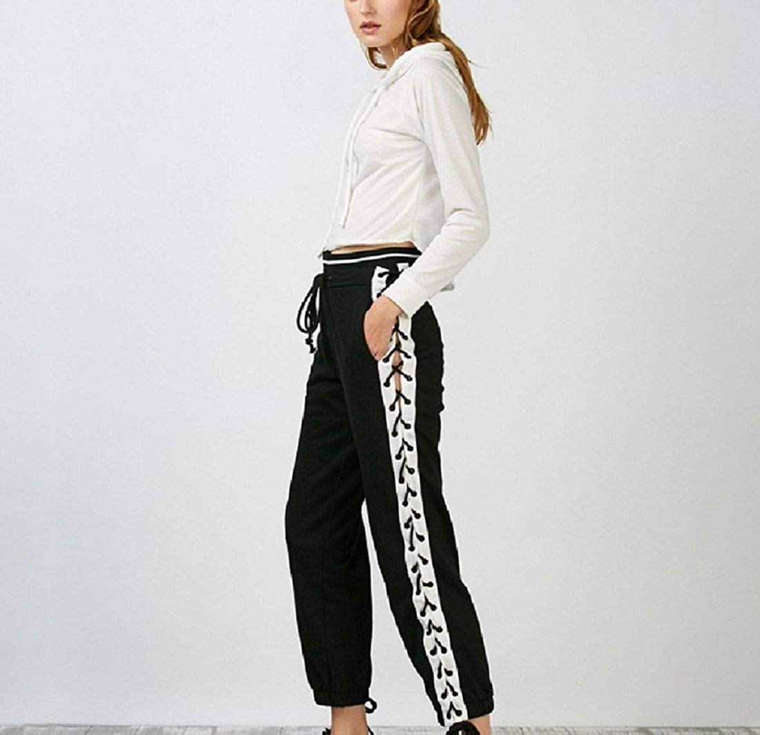 CORIRESHA Stripe Side Jogger Pants