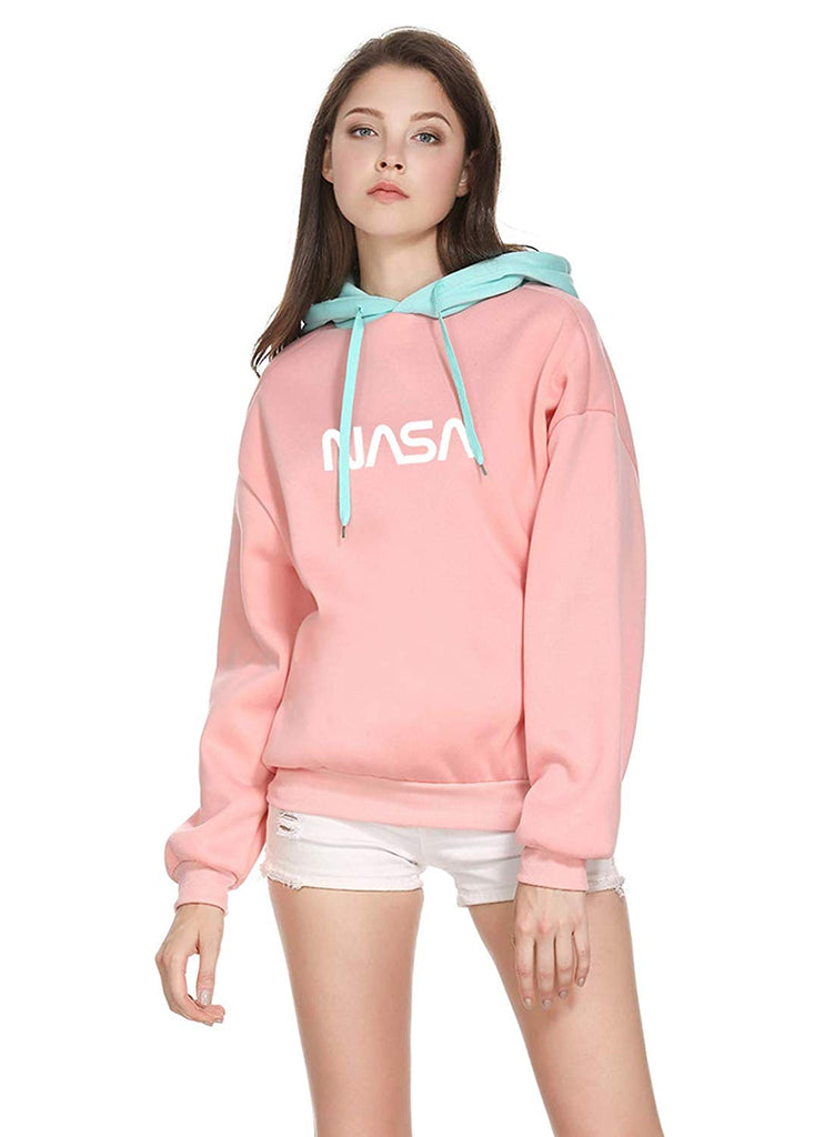 CORIRESHA NASA Color Block Hoodie