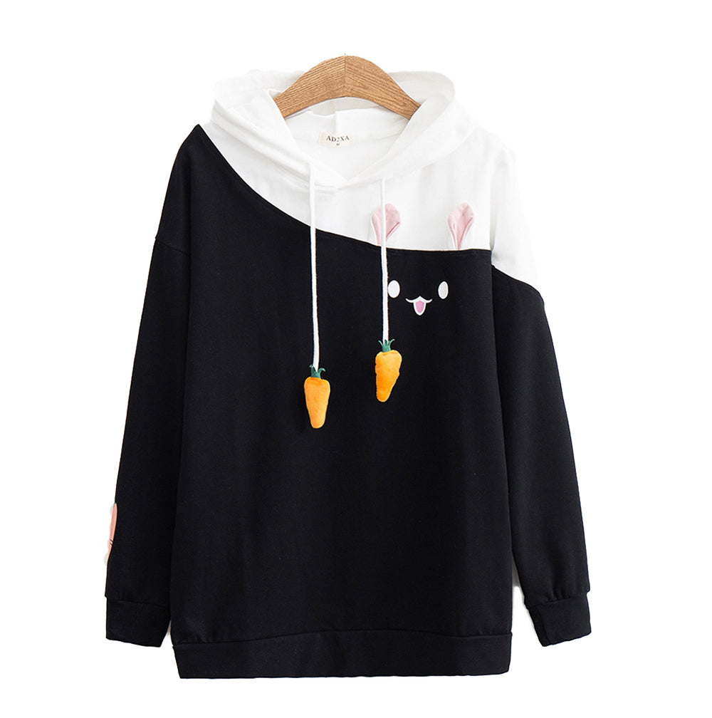 CORIRESHA Cute Cat Ear Hoodie
