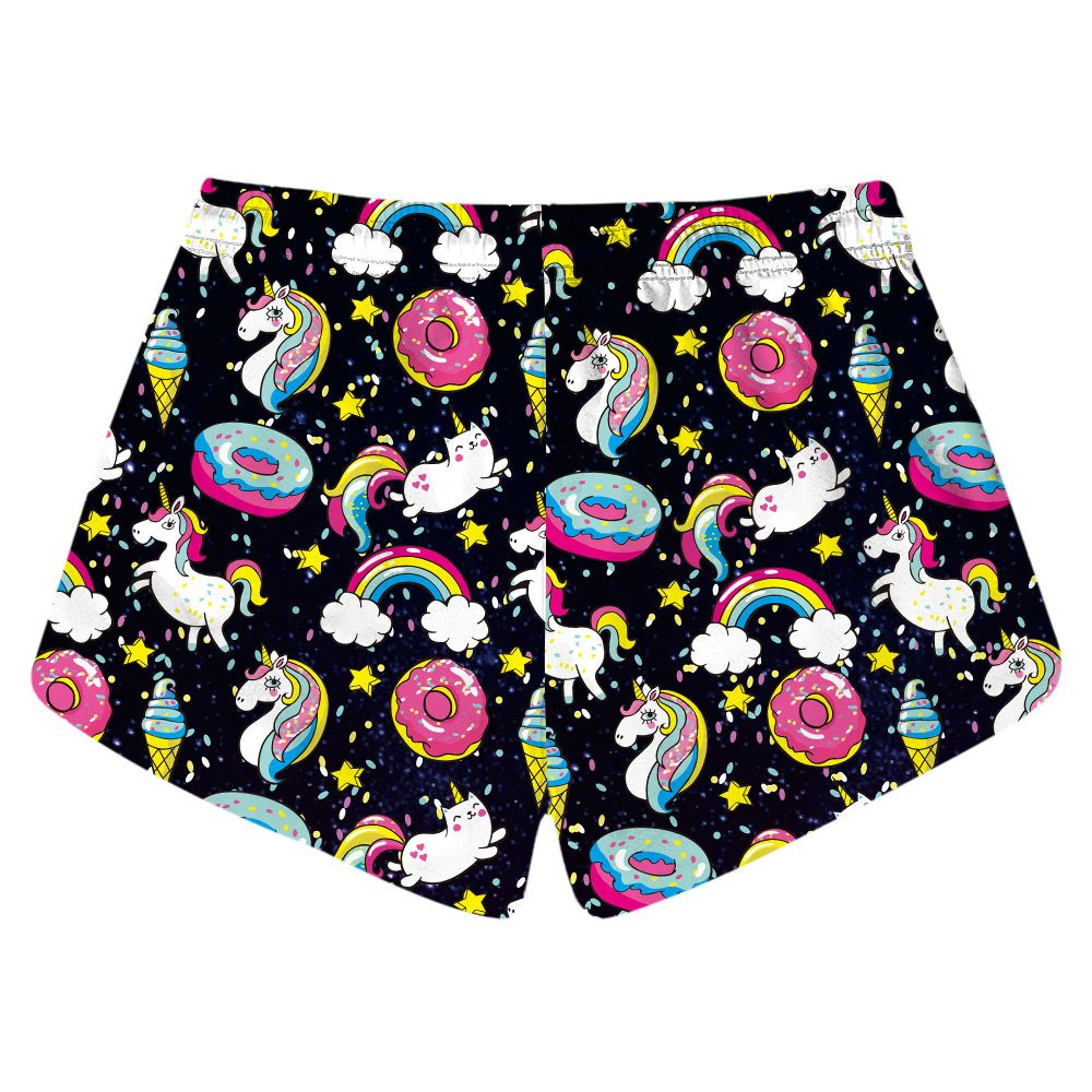 CORIRESHA Unicorn Swim Shorts