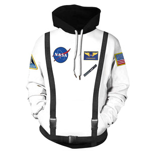 CORIRESHA NASA Space 3D Print Hoodie