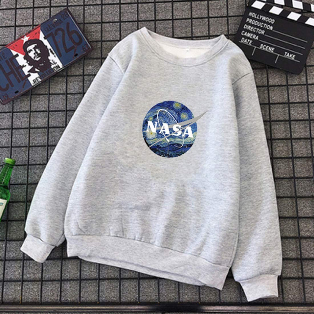 CORIRESHA Womens NASA Sweatshirt