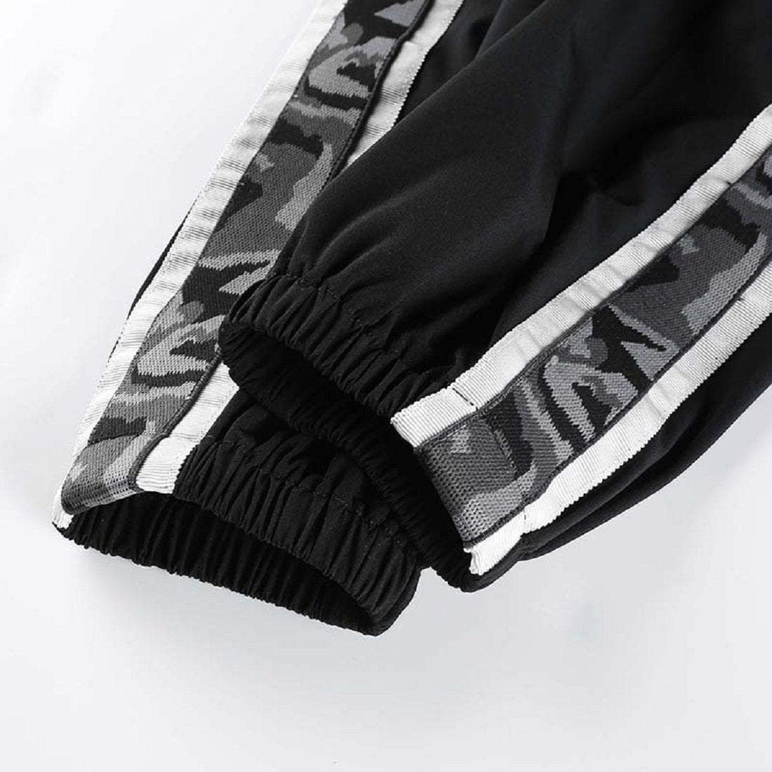 CORIRESHA Camo Stripe Jogger Pants