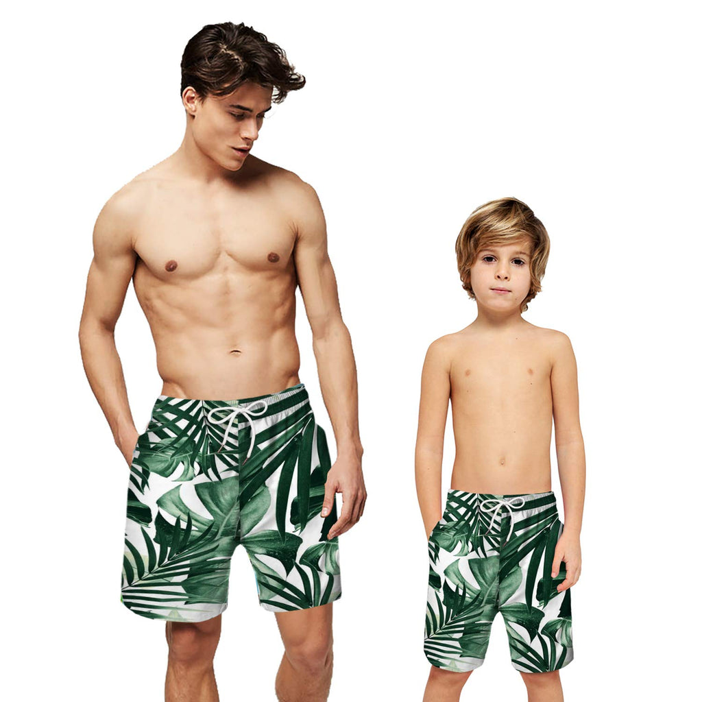 CORIRESHA Printed Quick Dry Beach Swimming Trunk