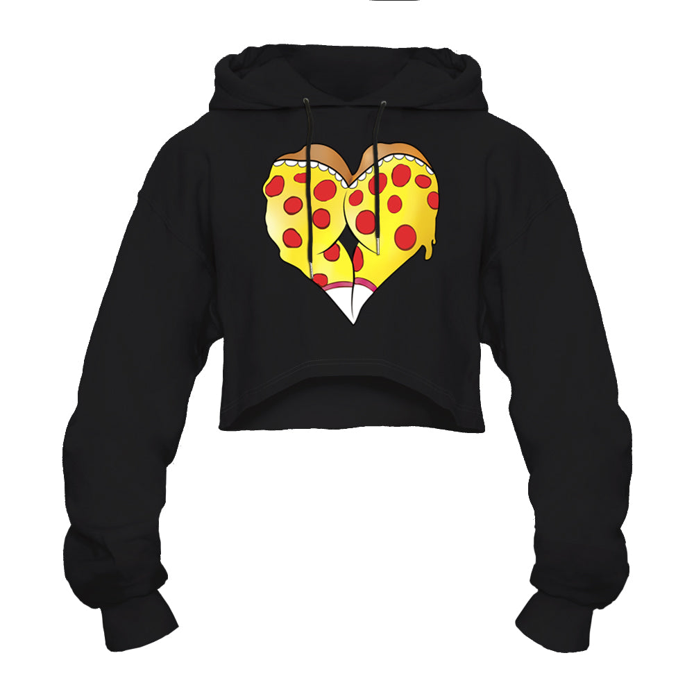 CORIRESHA Colorful Graffiti Heart Hoodie