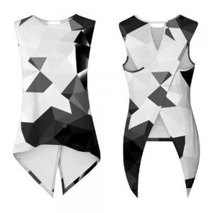 CORIRESHA Swallowtail Sleeveless Tank Top