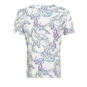 CORIRESHA Fancy Color Unicorn T-Shirt