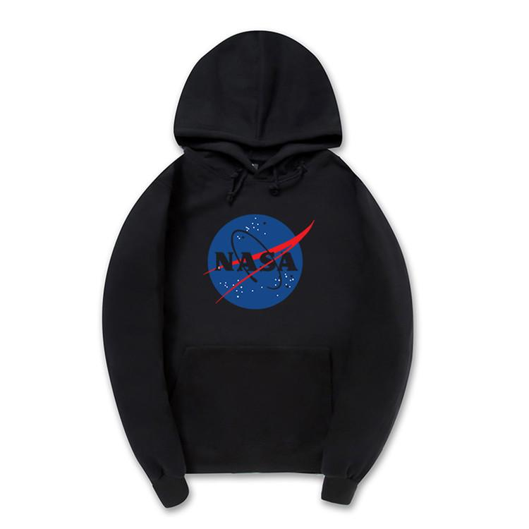 Clearance-Big NASA Logo Hoodie (3 Colors)