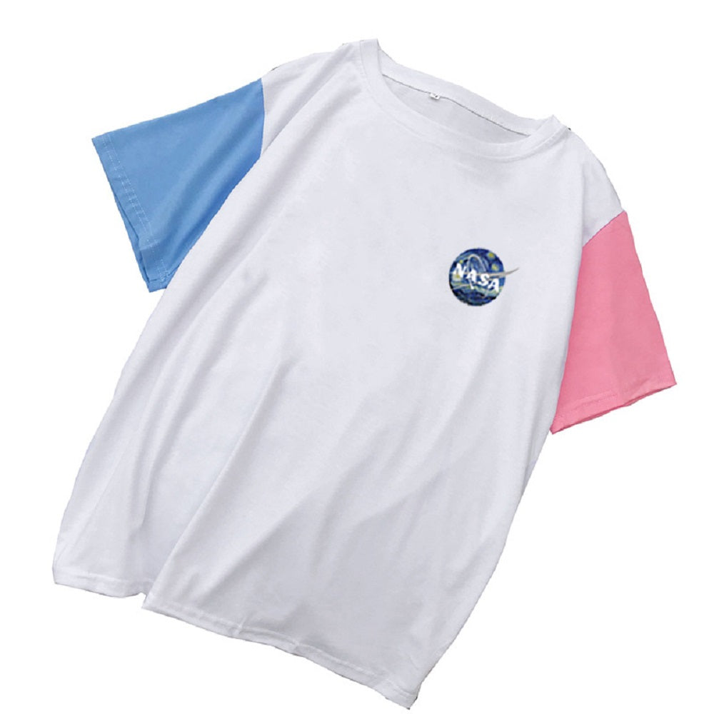 CORIRESHA Color Block T-Shirt