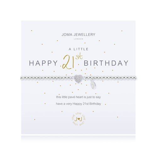 Joma Jewellery - A little Happy 21st - Blossom Boutique Thornton