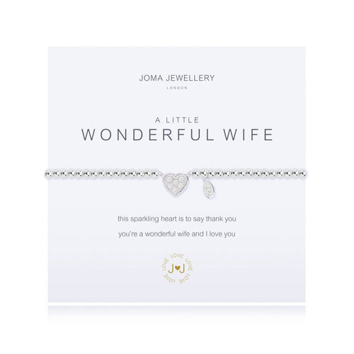 Joma Jewellery - A little Wonderful Wife - Blossom Boutique Thornton