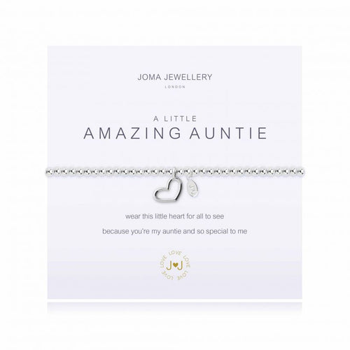 Joma Jewellery - A little Amazing Auntie - Blossom Boutique Thornton