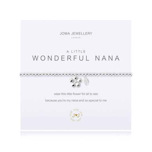 Joma Jewellery - A little Wonderful Nana - Blossom Boutique Thornton